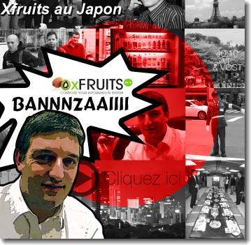 xfruits au Japon