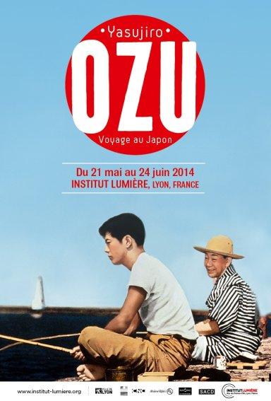 affiche Ozu Institut Lumière 2014